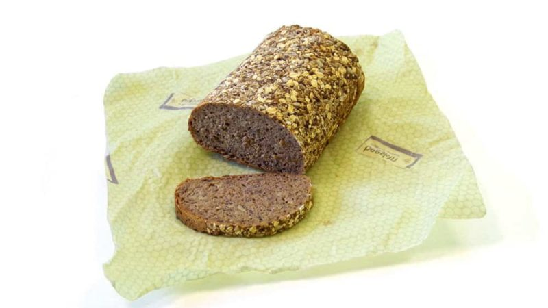 loaf of bread wrapped in beeskin size L